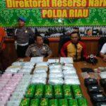 Puluhan Kg Sabu Dan 50 Ribu Pil Ekstasi Diselundupkan dari Malaysia
