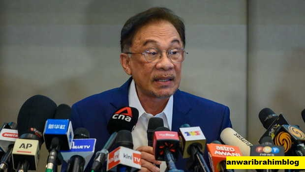 Deklarasi Anwar Ibrahim sebagai PM Kesembilan Malaysia