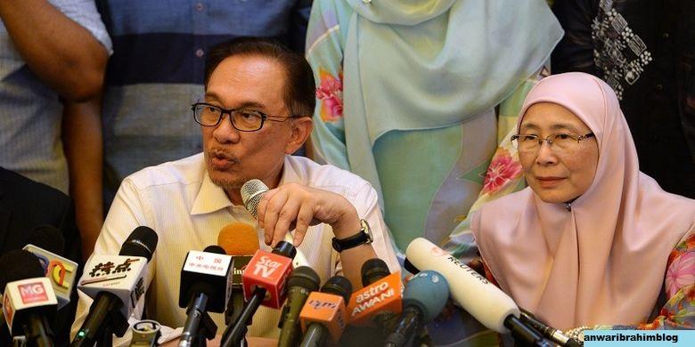 Istri Anwar Ibrahim Dilantik Sebagai Pemimpin Oposisi
